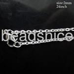 jewelry chain , 2 x 3mm Oval Links,24