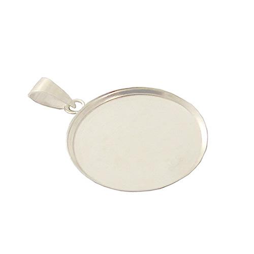 925 silver pendant blanks