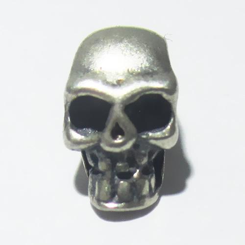 S925 thailand silver skull beads best for vintage bracelet