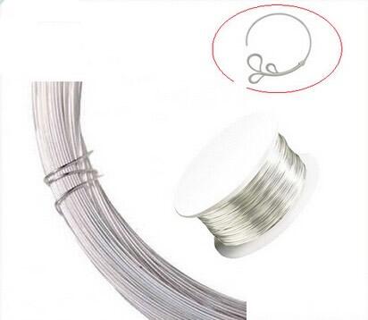 20 Ga Sterling Silver round wire Half-Hard