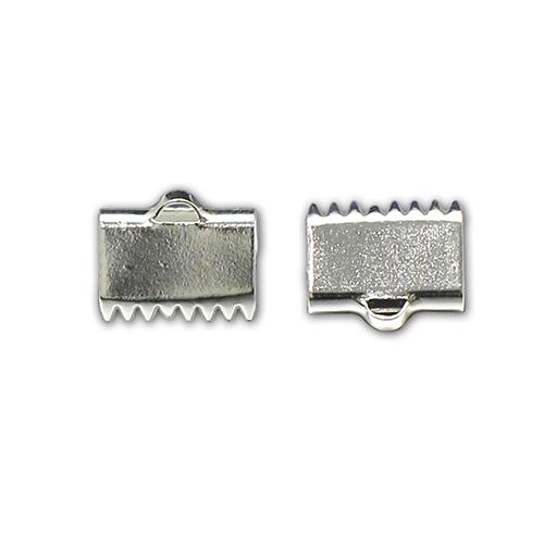 925 Sterling Silver Prong End Clip, Custom End Clip For Belt