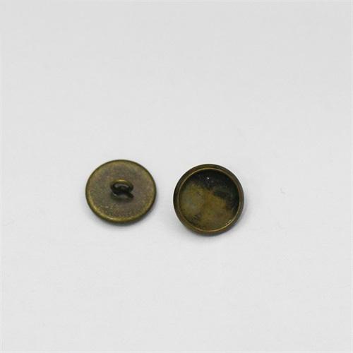Button jewelry,flat round,lead-safe,nickel-free
