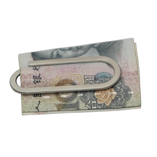 Stainless Steel Slim Paper Clip Money Clip