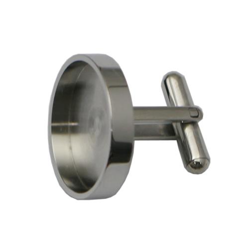 Stainless Steel Cufflink Findings Handmade Accessories
