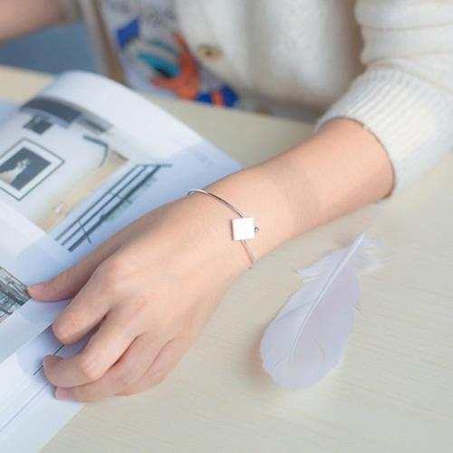 925 Sterling Silver Lady Bracelet