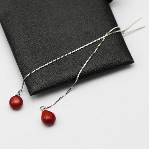 925 Sterling Silver Lady Earrings