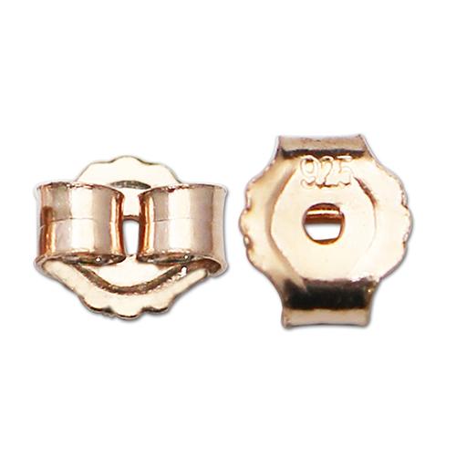 925 Silver Ear Post Earring Stopper