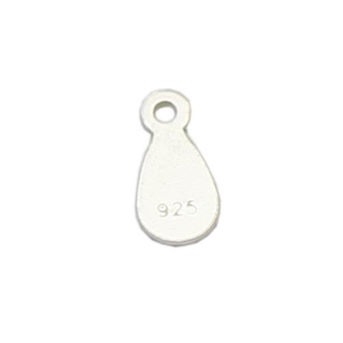 925 Sterling Sliver Teardrop Bracelet Pendant Charms