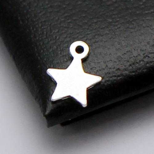 925 Sterling Sliver Pentagram Pendant Blank