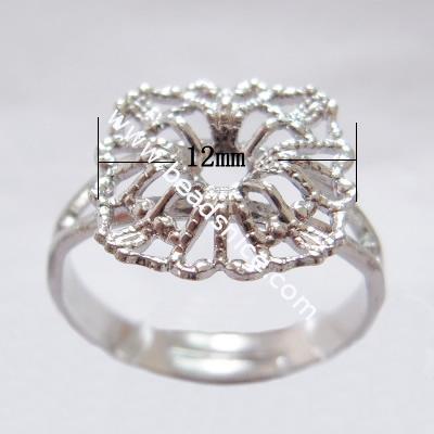 Brass finger ring,