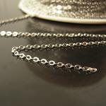 Brass Chain  spools chain,2x1.5x0.2mm,Nickel-Free,Lead-Safe,
