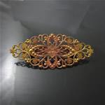 Brass  Hairpins,81X35X1mm,nickel free,lead safe,